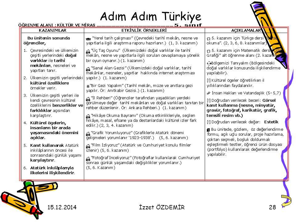 Adım Adım Türkiye 07.04.2017 İzzet ÖZDEMİR