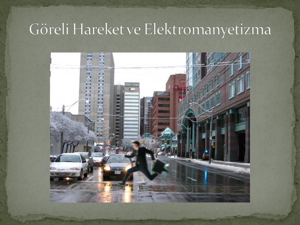 Göreli Hareket ve Elektromanyetizma