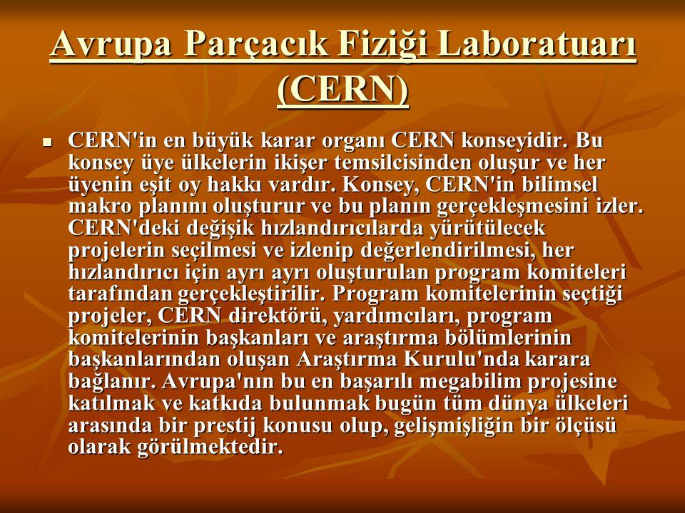 Avrupa Parçacık Fiziği Laboratuarı (CERN)