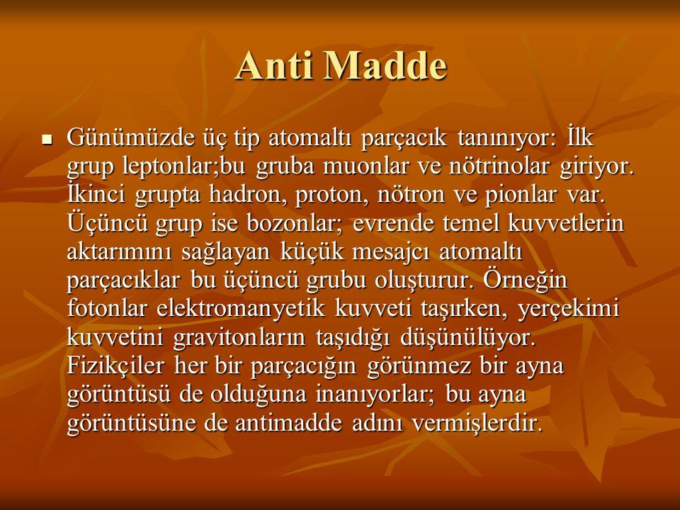 Anti Madde