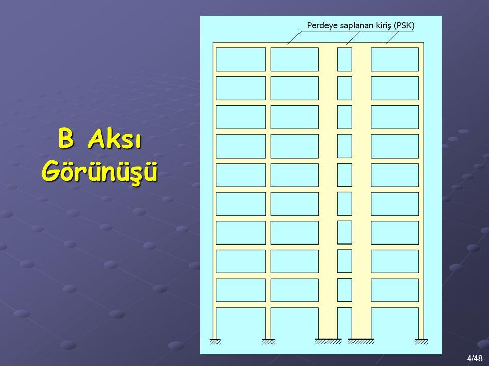 B Aksı Görünüşü 4/48