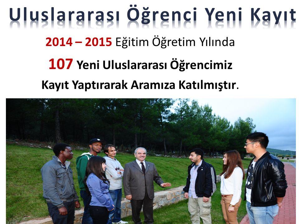 Uluslararası Öğrenci Yeni Kayıt