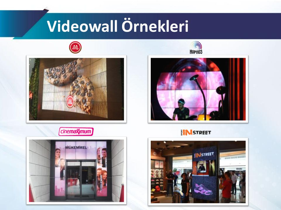 Videowall Örnekleri