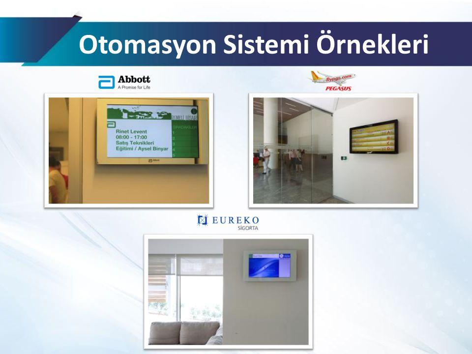 Otomasyon Sistemi Örnekleri