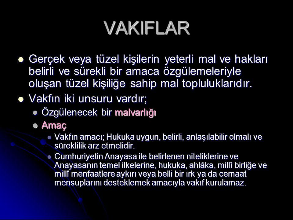 VAKIFLAR