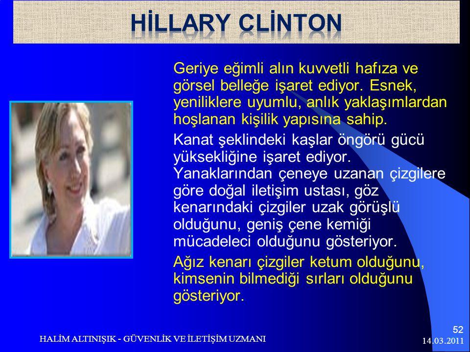 HİLLARY CLİNTON