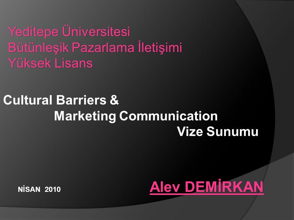 Yeditepe Üniversitesi Bütünleşik Pazarlama İletişimi Yüksek Lisans