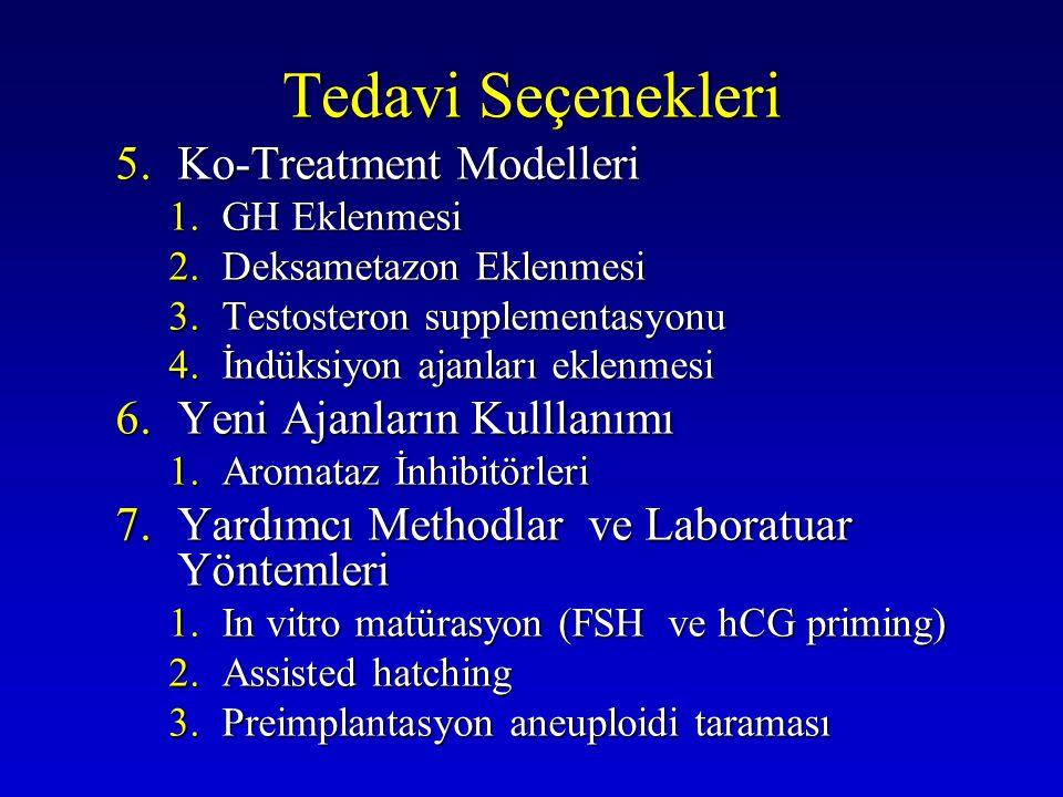Tedavi Seçenekleri Ko-Treatment Modelleri Yeni Ajanların Kulllanımı