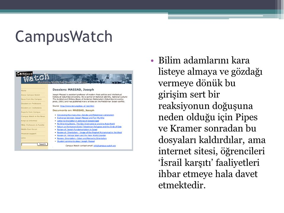 CampusWatch