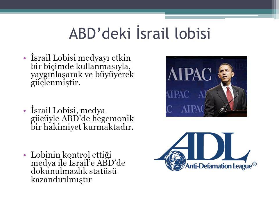 ABD'deki İsrail lobisi