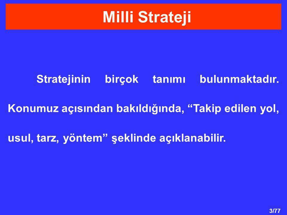 Milli Strateji