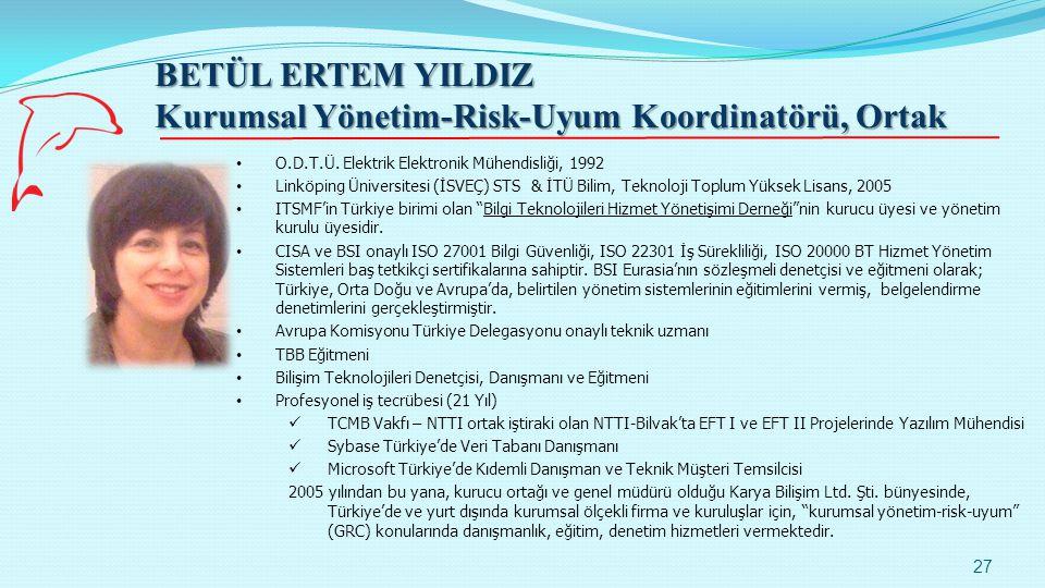 Kurumsal Yönetim-Risk-Uyum Koordinatörü, Ortak