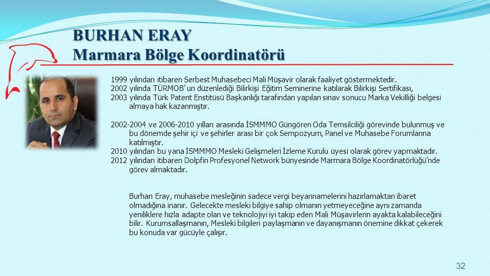 Marmara Bölge Koordinatörü