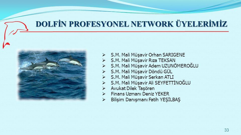 DOLFİN PROFESYONEL NETWORK ÜYELERİMİZ