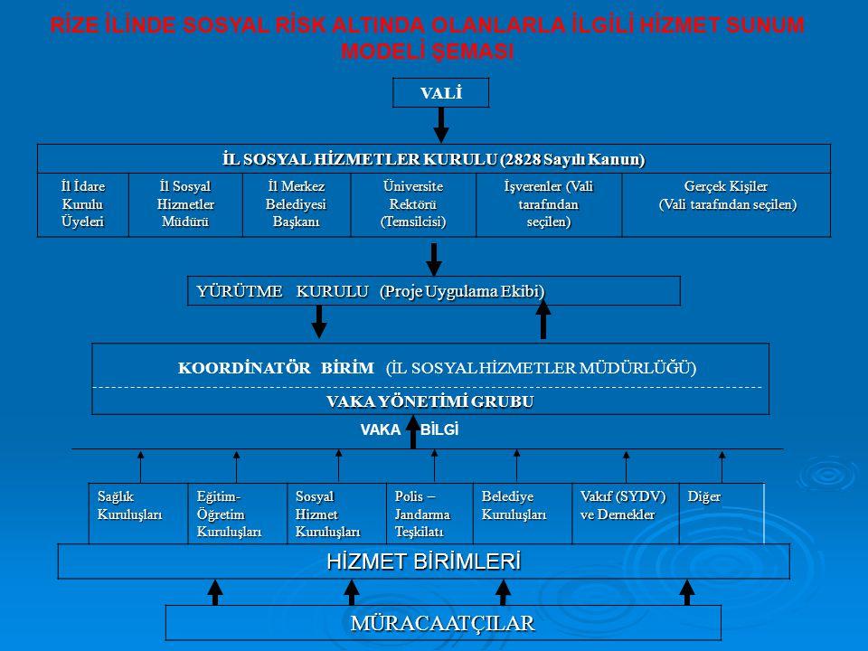 İL SOSYAL HİZMETLER KURULU (2828 Sayılı Kanun)
