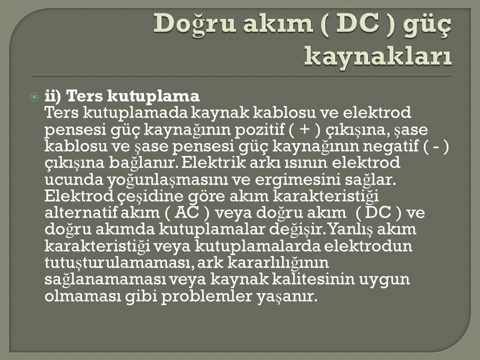 Doğru akım ( DC ) güç kaynakları
