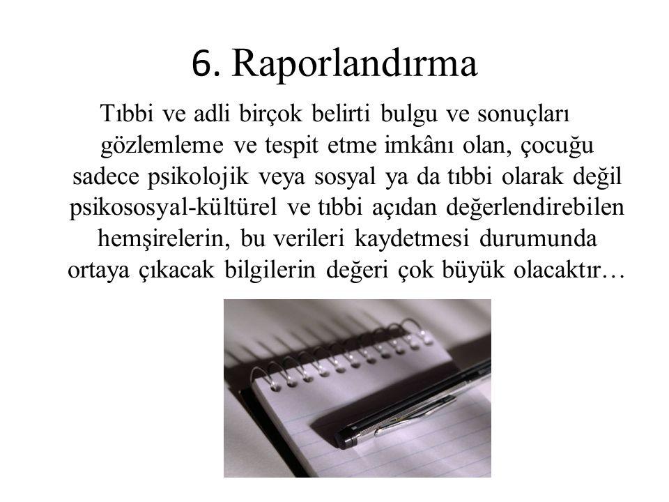 6. Raporlandırma