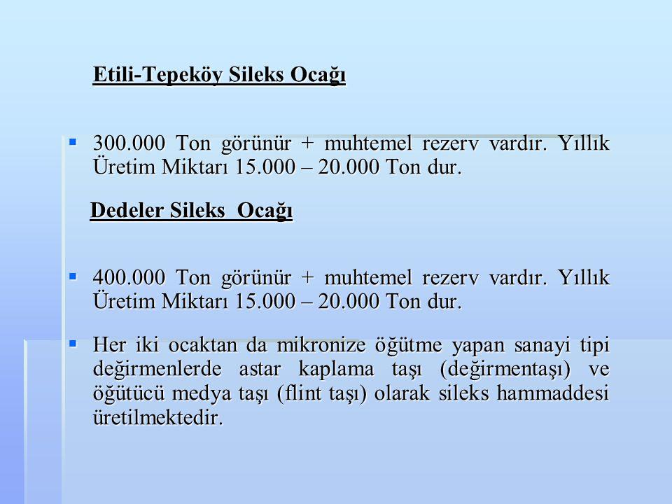 Etili-Tepeköy Sileks Ocağı