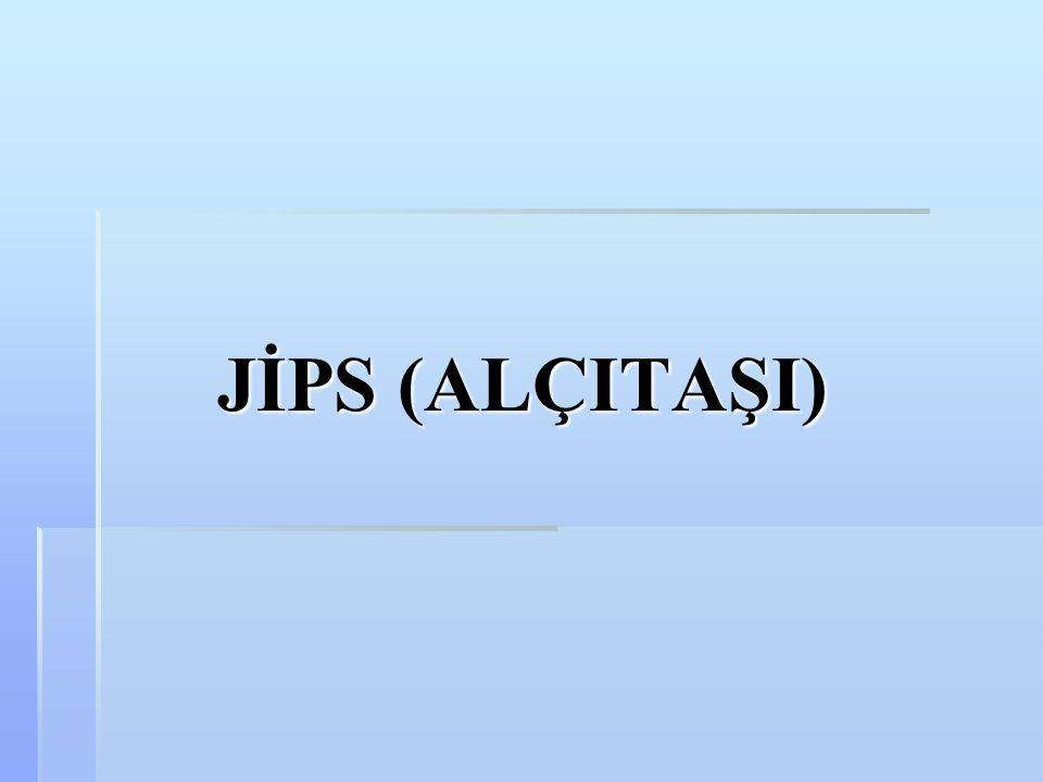 JİPS (ALÇITAŞI)