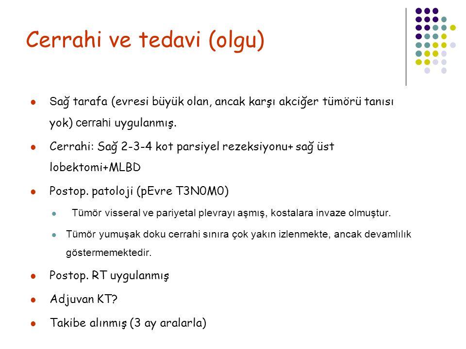 Cerrahi ve tedavi (olgu)