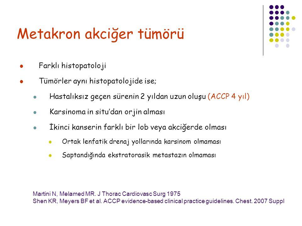 Metakron akciğer tümörü