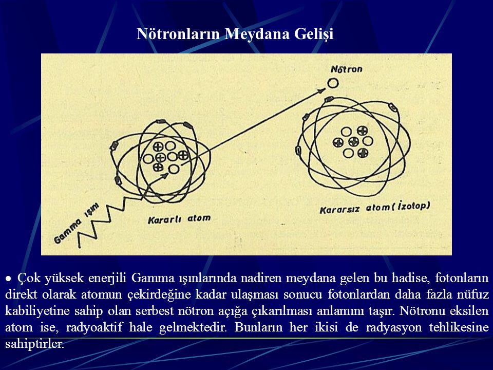 Nötronların Meydana Gelişi