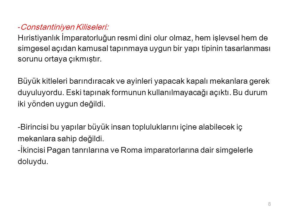 -Constantiniyen Kiliseleri: