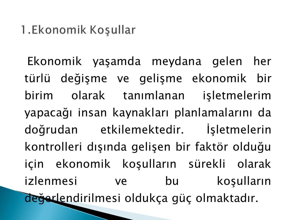 1.Ekonomik Koşullar