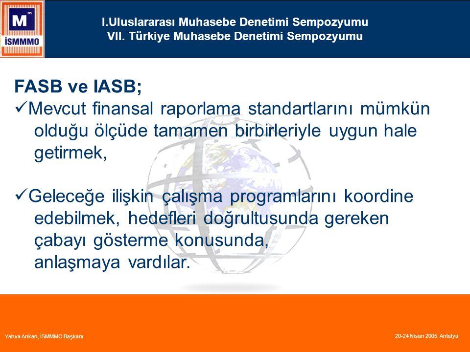 Mevcut finansal raporlama standartlarını mümkün