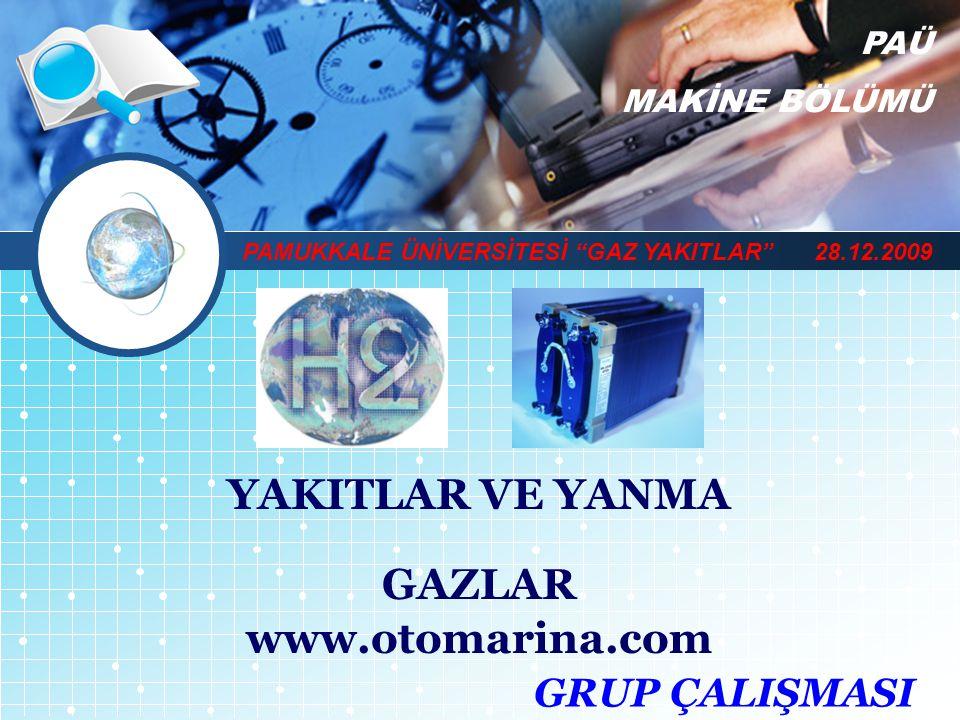 YAKITLAR VE YANMA GAZLAR www.otomarina.com