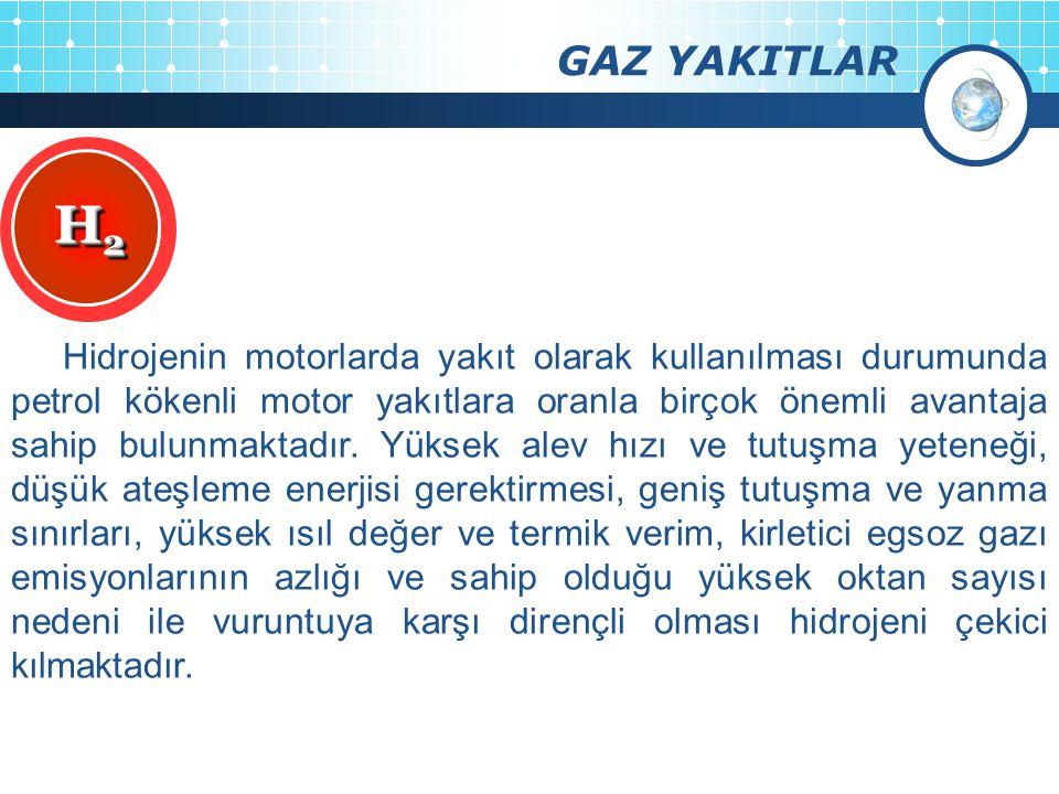 GAZ YAKITLAR H2.