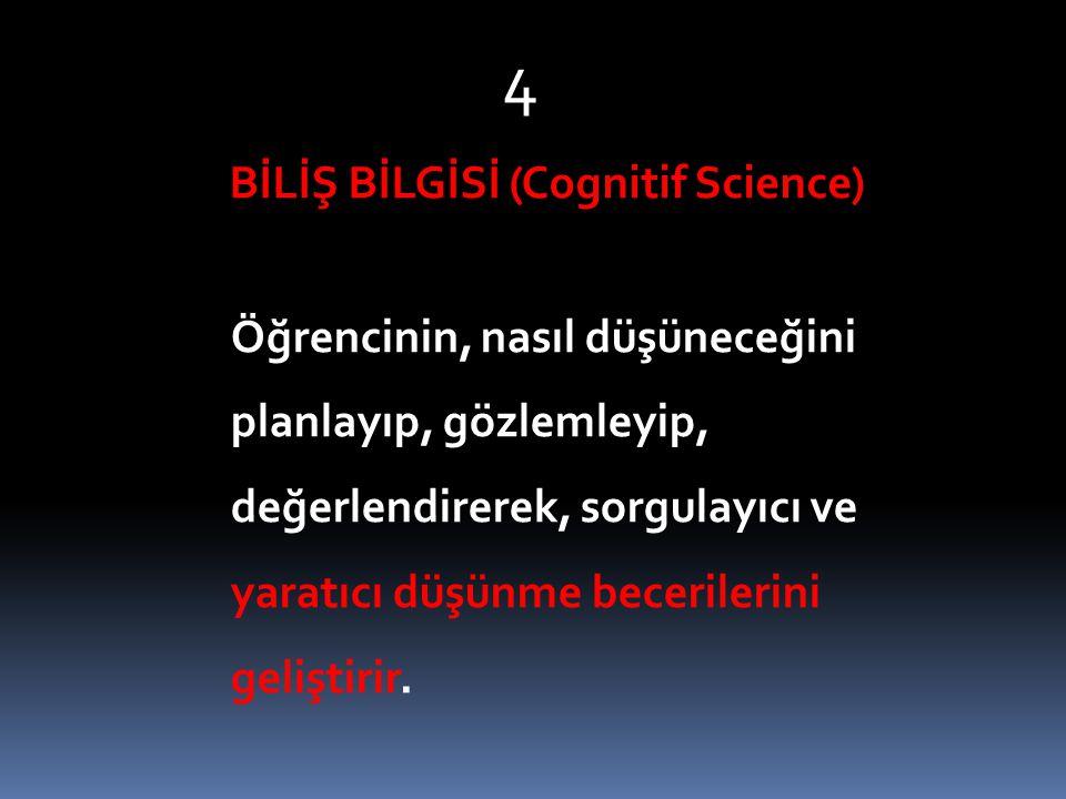 BİLİŞ BİLGİSİ (Cognitif Science)
