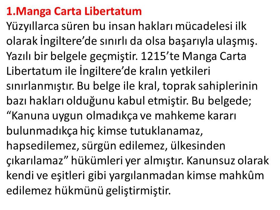 1.Manga Carta Libertatum
