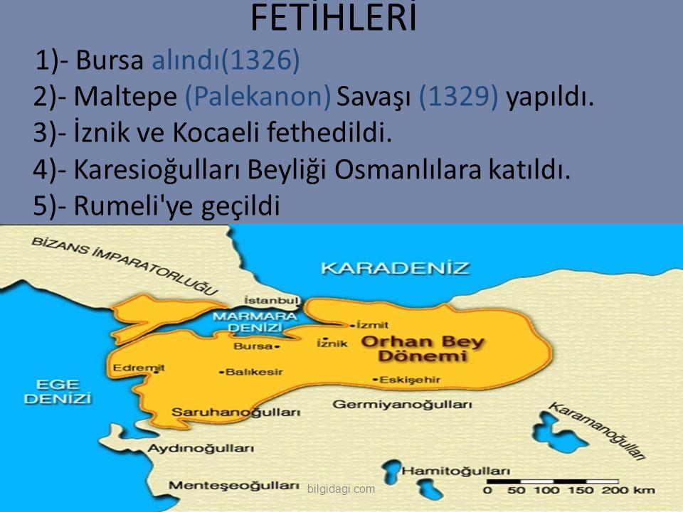 FETİHLERİ