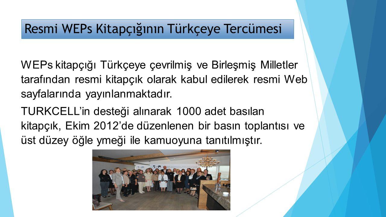Resmi WEPs Kitapçığının Türkçeye Tercümesi