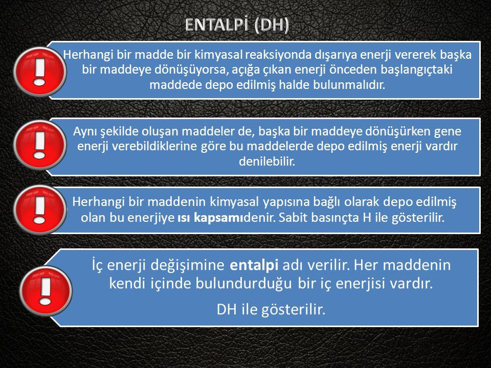 ENTALPİ (DH)