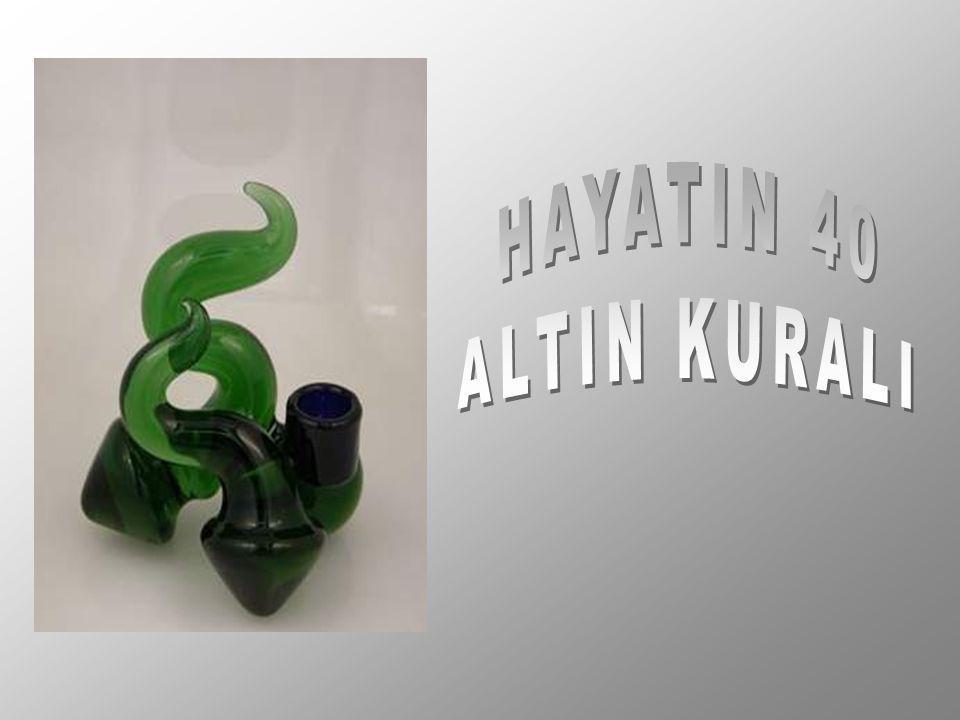 HAYATIN 40 ALTIN KURALI