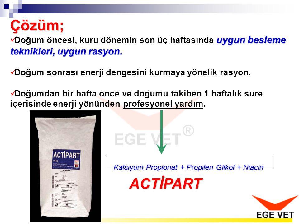 Kalsiyum Propionat + Propilen Glikol + Niacin
