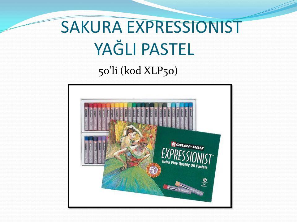 SAKURA EXPRESSIONIST YAĞLI PASTEL