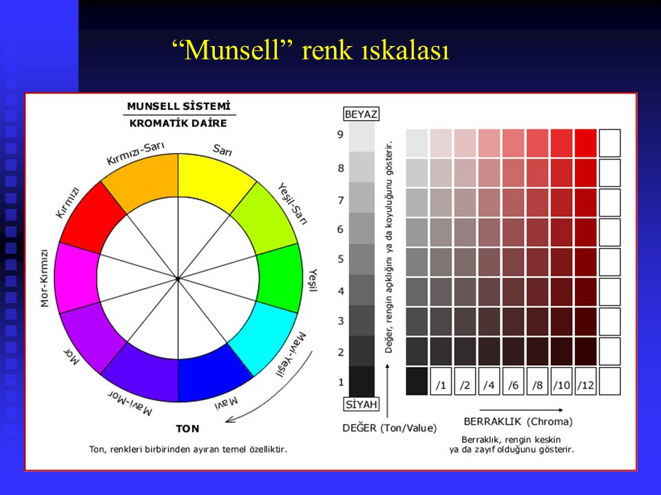 Munsell renk ıskalası