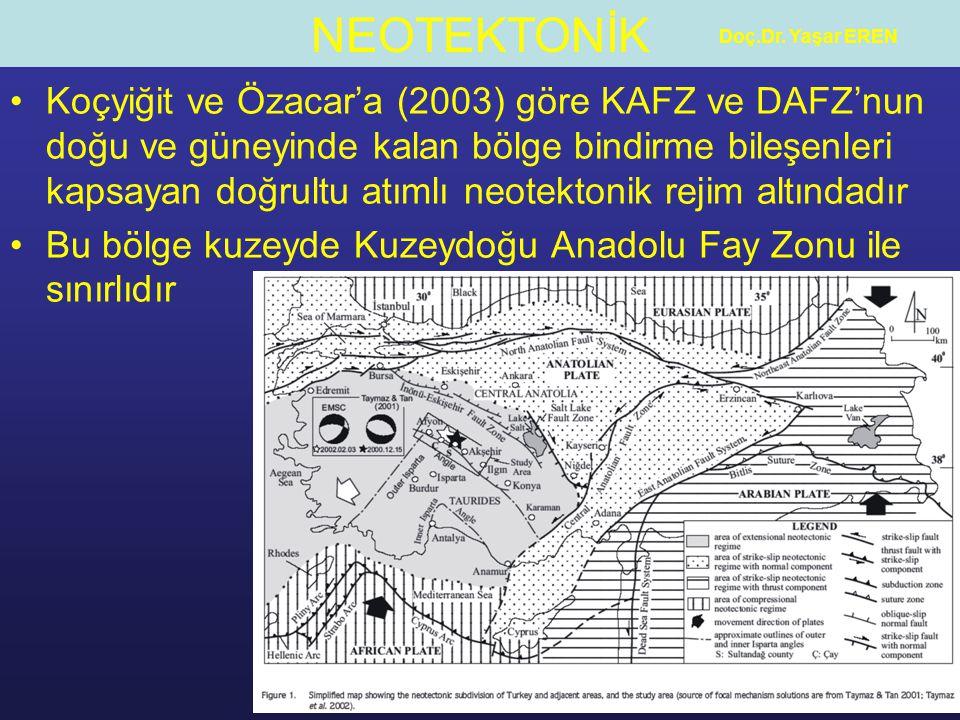 Bu bölge kuzeyde Kuzeydoğu Anadolu Fay Zonu ile sınırlıdır
