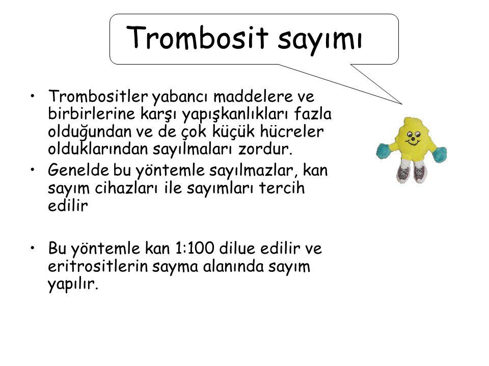 Trombosit sayımı