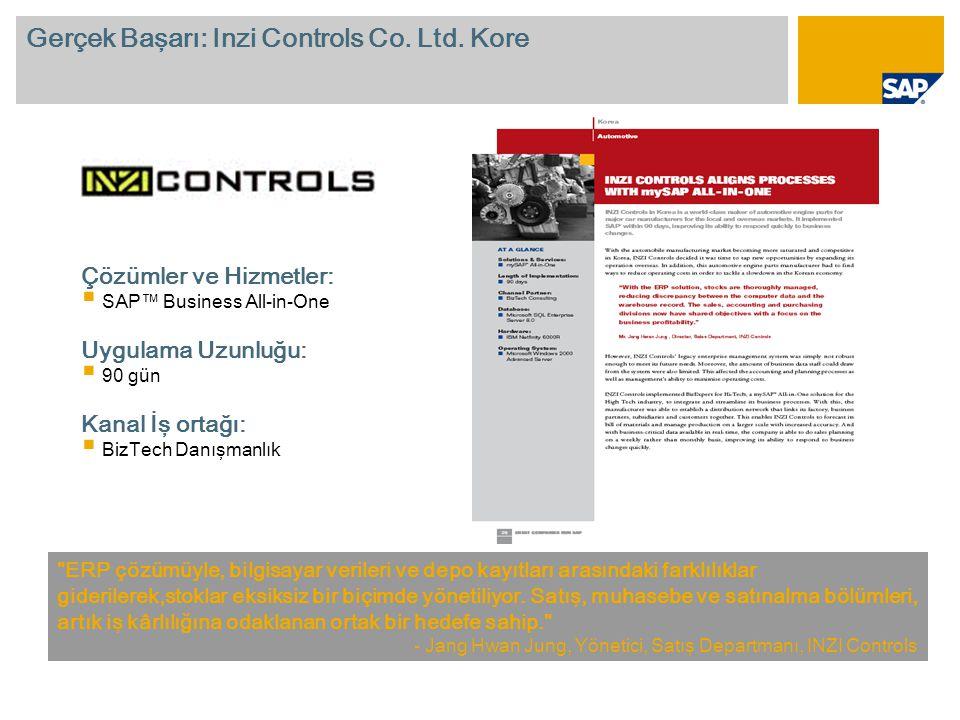 Gerçek Başarı: Inzi Controls Co. Ltd. Kore