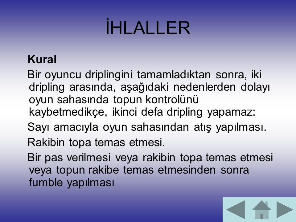 İHLALLER Kural.