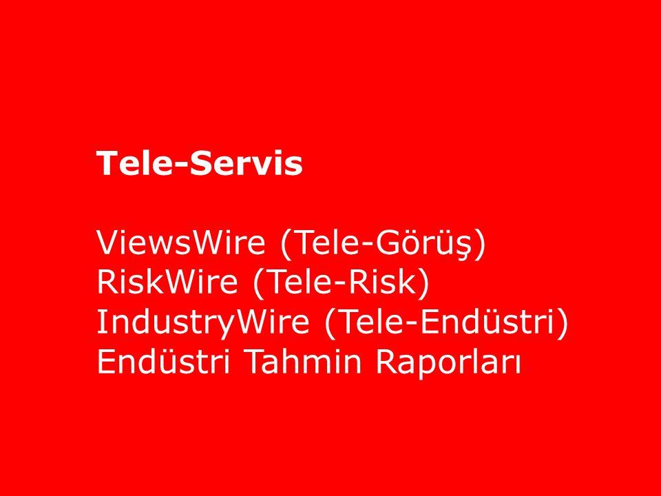 ViewsWire (Tele-Görüş) RiskWire (Tele-Risk)