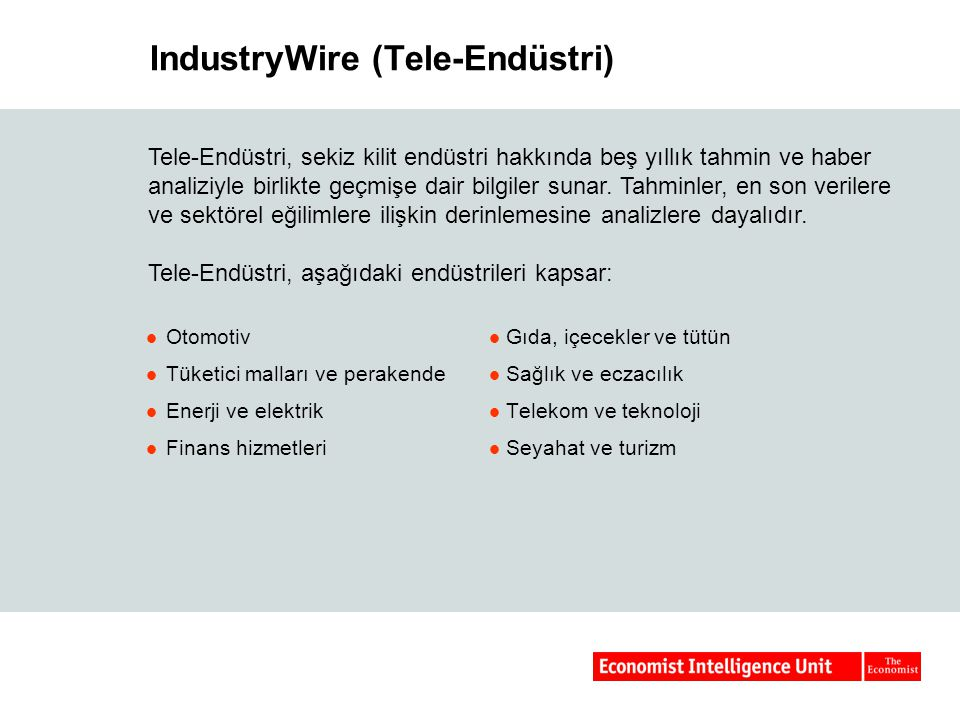 IndustryWire (Tele-Endüstri)