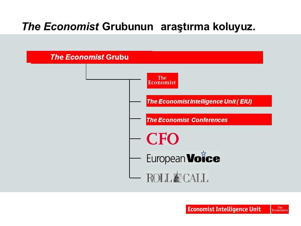 The Economist Grubunun araştırma koluyuz.