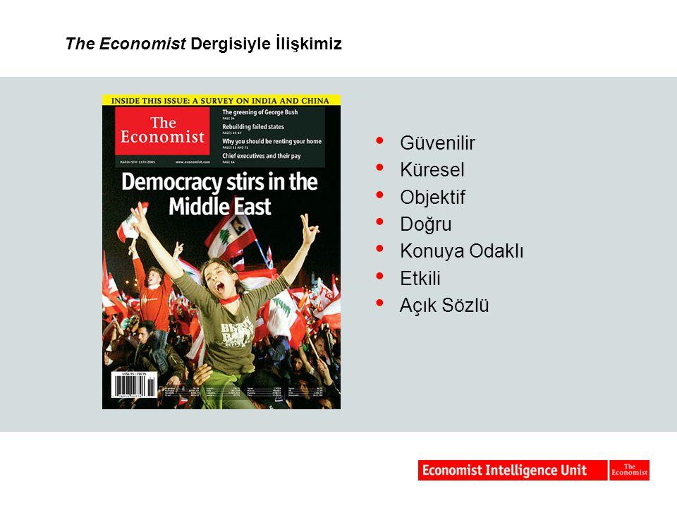 The Economist Dergisiyle İlişkimiz