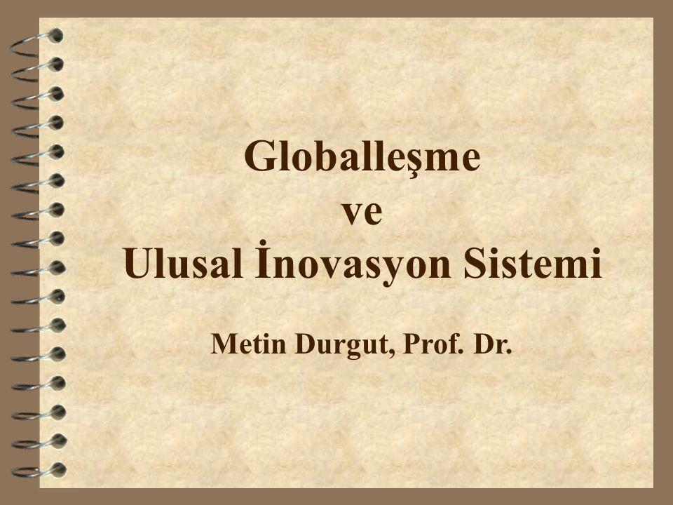 Ulusal İnovasyon Sistemi