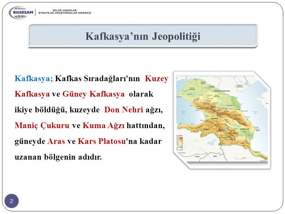 Kafkasya'nın Jeopolitiği